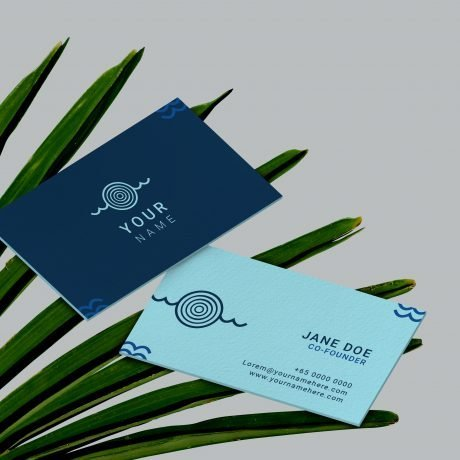 Just Start Up branding namecard authentic professional