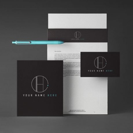 Just Start Up Branding Kit Futuristic