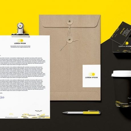 Just Start Up Branding Kit Fresh and Energetic